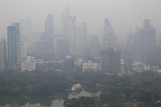 air pollution causes more extra deaths a year than tobacco smoking who photo reuters