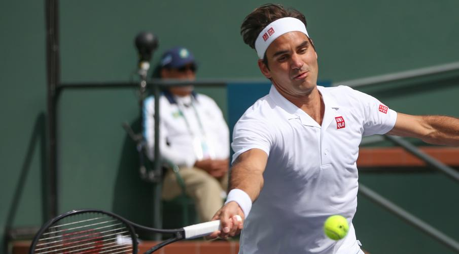 federer wawrinka to renew rivalry at indian wells