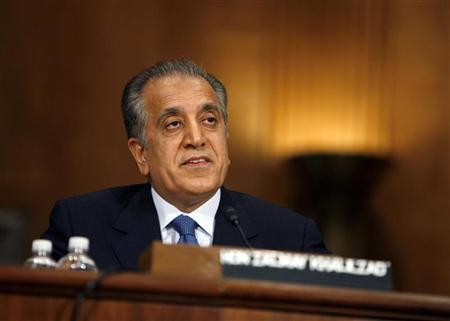 united states special envoy zalmay khalilzad says conditions for peace in afghanistan have improved photo reuters file