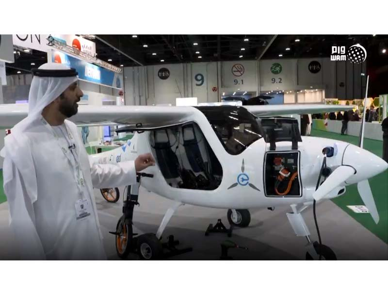residents above age 14 would be allowed to fly electric aircraft in uae photo wam