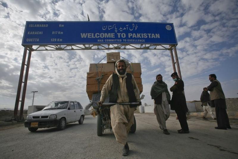 pakistan afghan border photo reuters