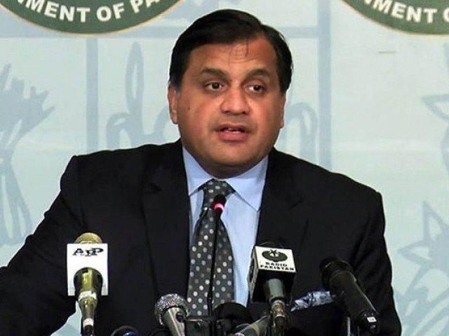 mofa spokesperson dr mohammad faisal photo file