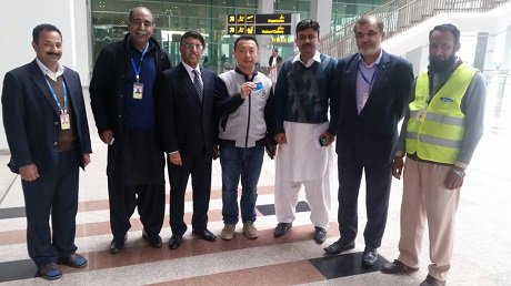 guo ming zhamc hails muhammad younus for his honesty and integrity photo express