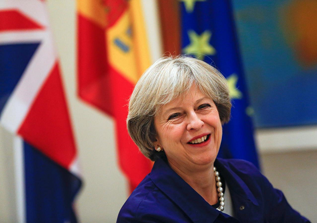 may warned that if mps did not adopt the deal there could have to be a lengthy delay to brexit photo reuters