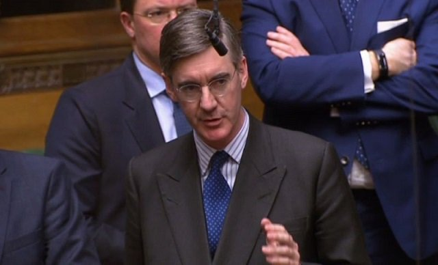 mp jacob rees mogg rejects the brexit deal photo afp