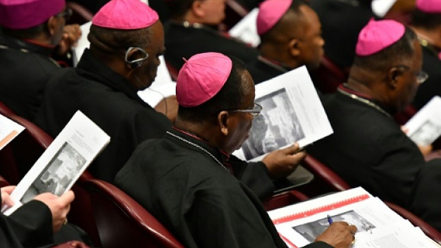 last month a vatican meeting addressed the issue of sex abuse within the catholic church photo afp