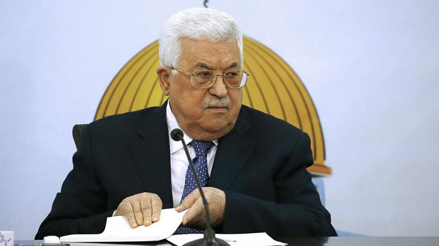 palestinian president slams us dropping occupied in report
