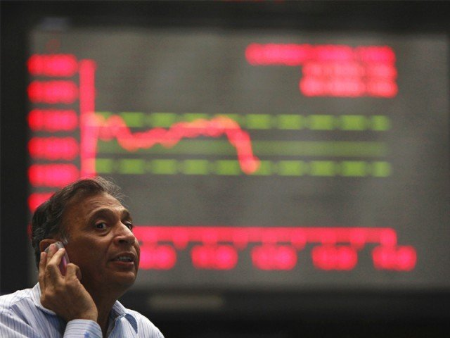 benchmark index decreases 1 29 to settle at 38 306 95 photo afp file