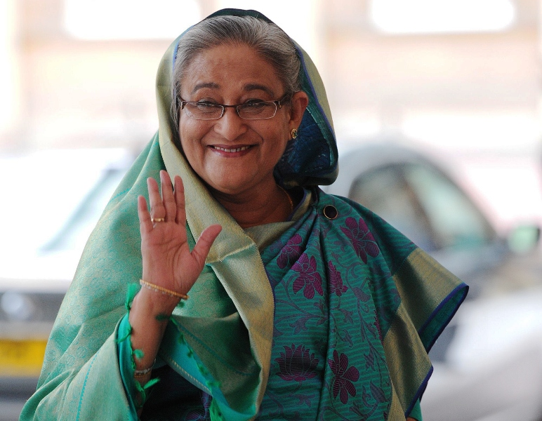 sheikh hasina photo afp file
