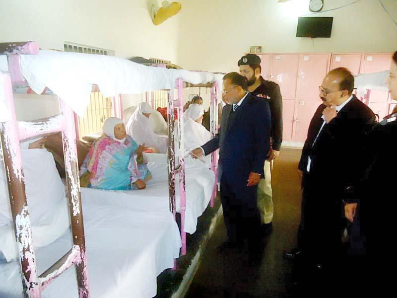 judges pay surprise visit to adyala central jail