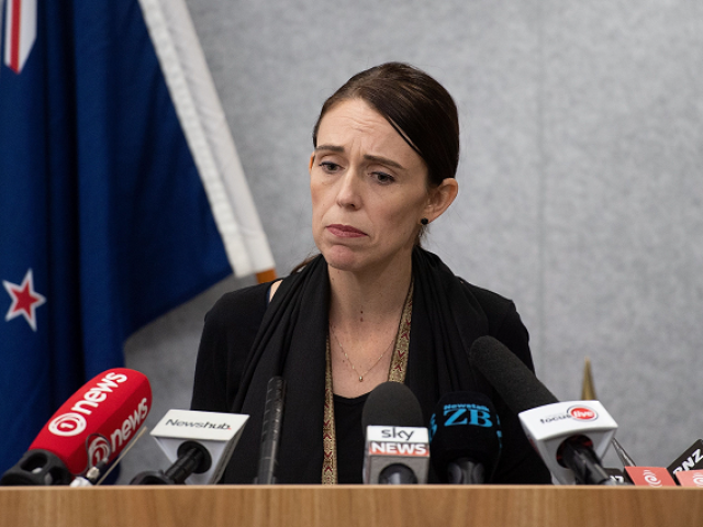 new zealand prime minister jacinda ardern speaks to the media during a press conference at the justice precinct in christchurch on march 16 2019 photo afp