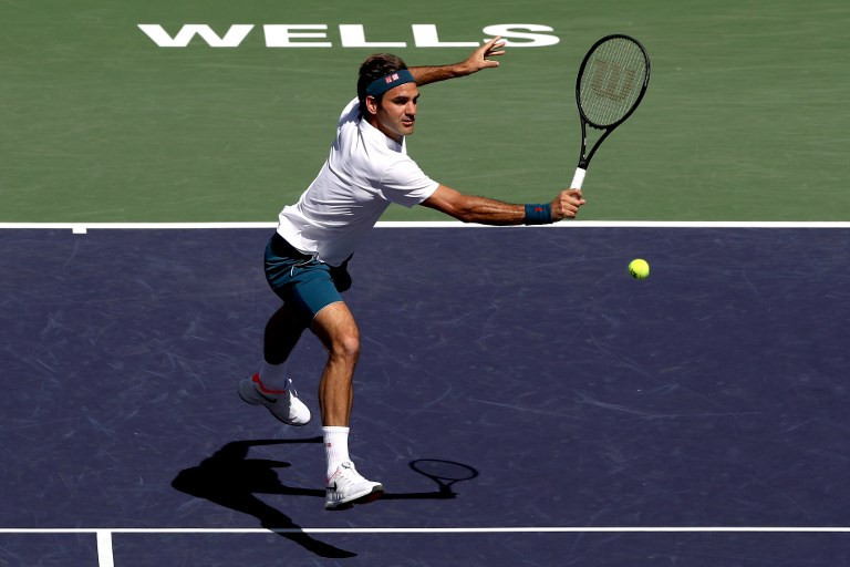 federer was looking forward to the match and the chance to break out of a tie with novak djokovic for most indian wells titles but was sorry to miss a meeting with nadal photo afp