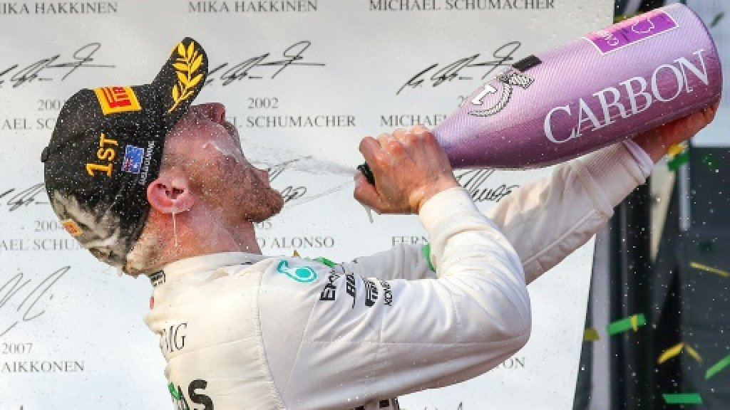 while bottas drew first blood against hamilton and ferrari there is a long season ahead with another 20 races to go before the world champion is crowded photo afp