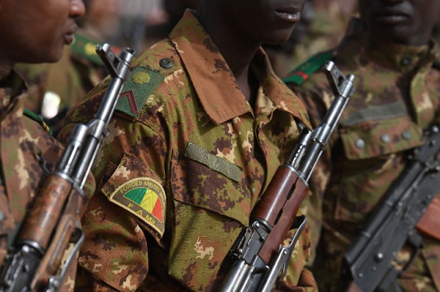 malian troops have come under frequent attack by jihadists who carried out 237 attacks in 2018 photo afp