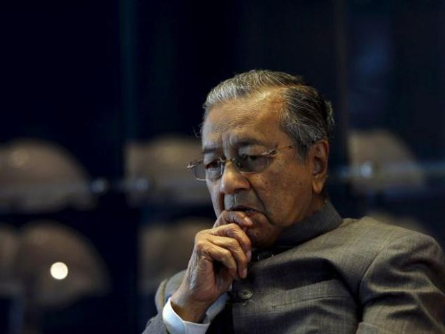mahathir mohamad photo reuters file