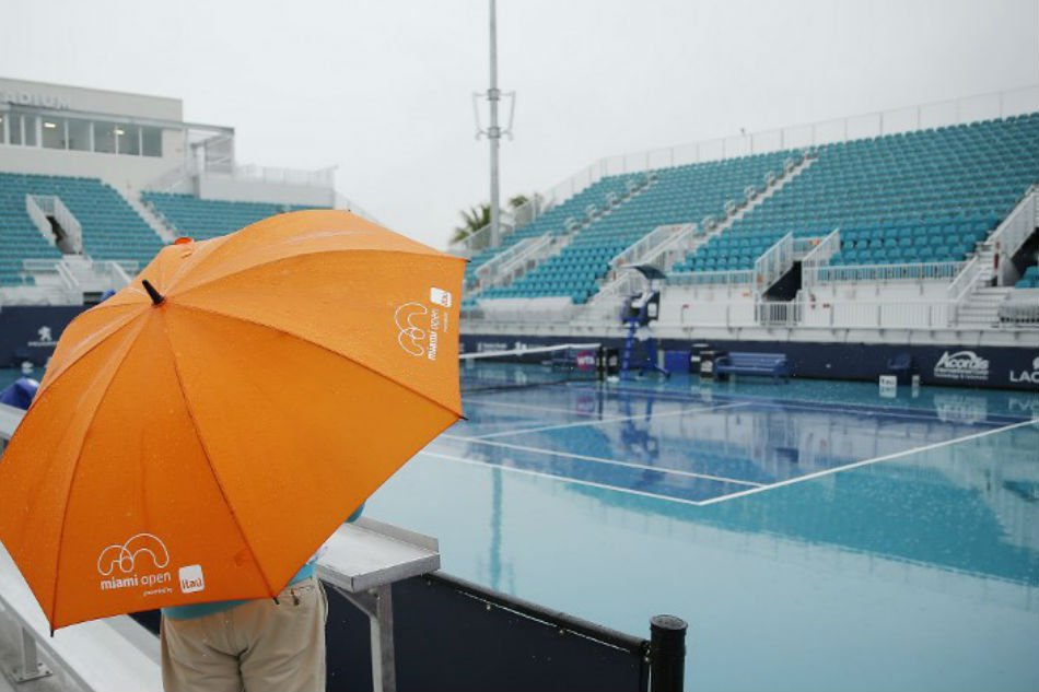 once the rain disappears fans can expect a wide open tournament if the season follows the current trend photo afp