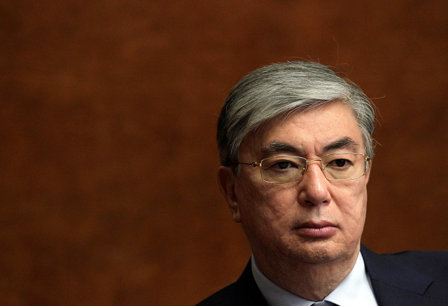 tokayev will serve for the rest of the term which ends in april 2020 photo reuters