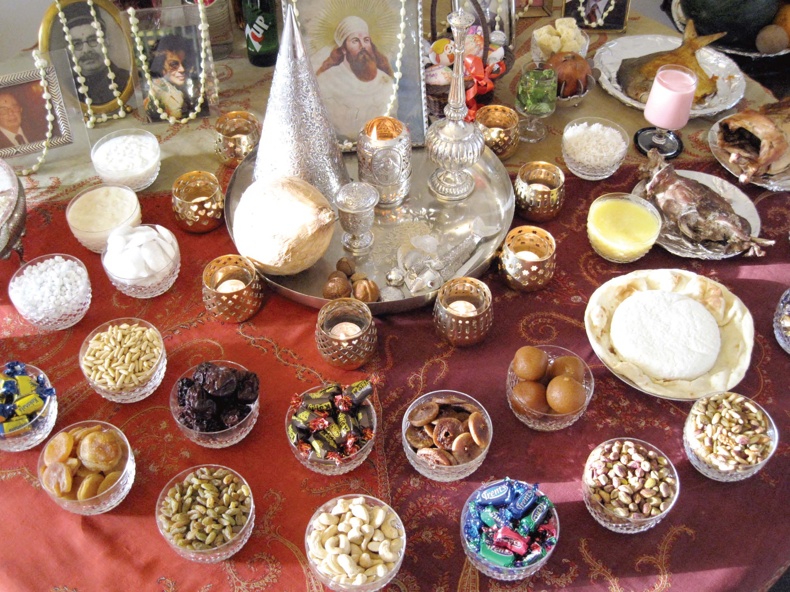 traditionally nauroz is celebrated with the setting of a nauroz table which is both ritualistic and customary photo courtesy toxy cowasjee