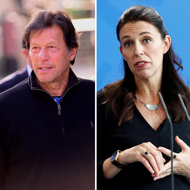 pm imran also invited pm ardern to visit pakistan photo file