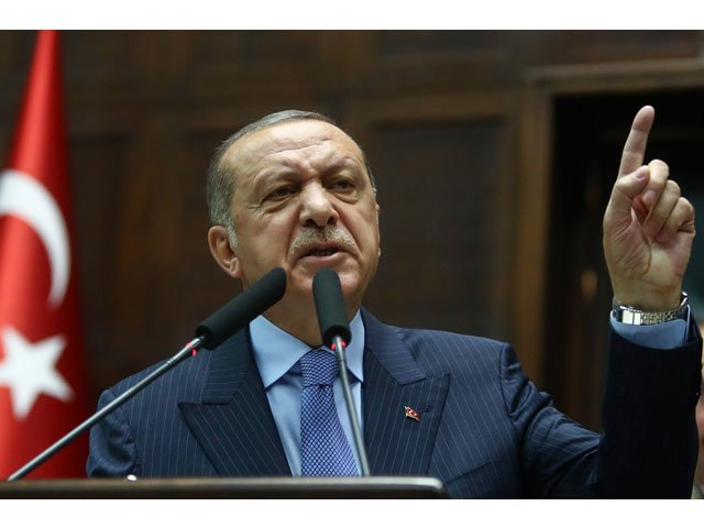 A file photo of Turkish president Recep Tayyip Erdogan. PHOTO: AFP