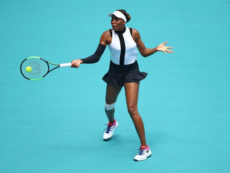 venus credits her mother oracene price with instilling the character and desire to match the tennis skills developed by their father and long time coach richard williams photo afp