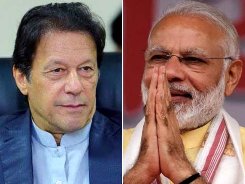indian premier says people of subcontinent should work together for peaceful prosperous region in message to pm imran file photos