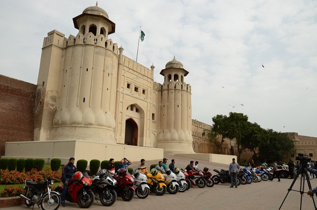 walled city of lahore authority joins hands with torque motor sports club for event photo express
