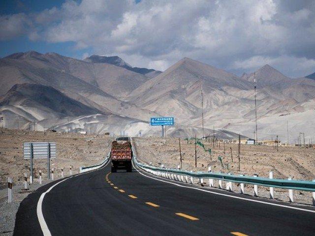 cpec route photo reuters