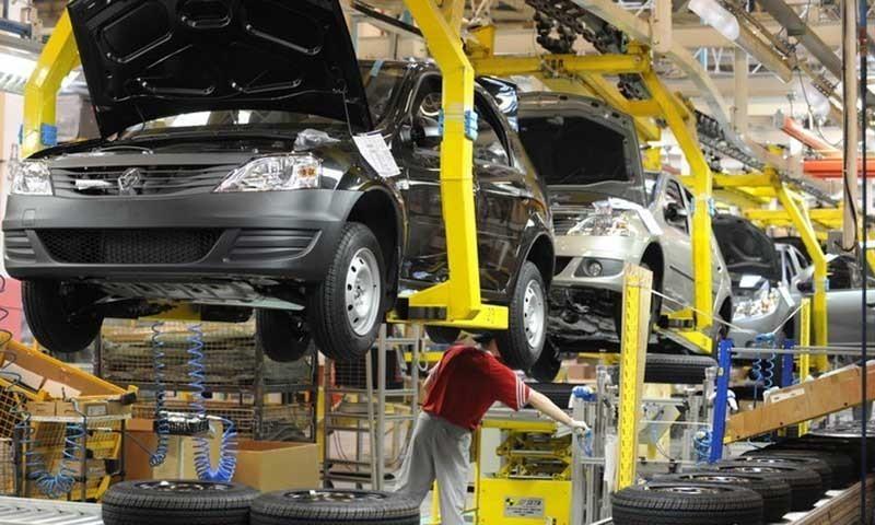 a car manufacturing plant photo afp