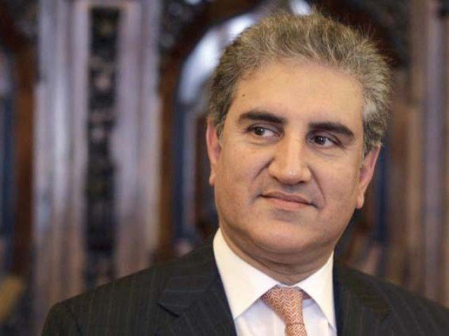 foreign minister shah mehmood qureshi photo file