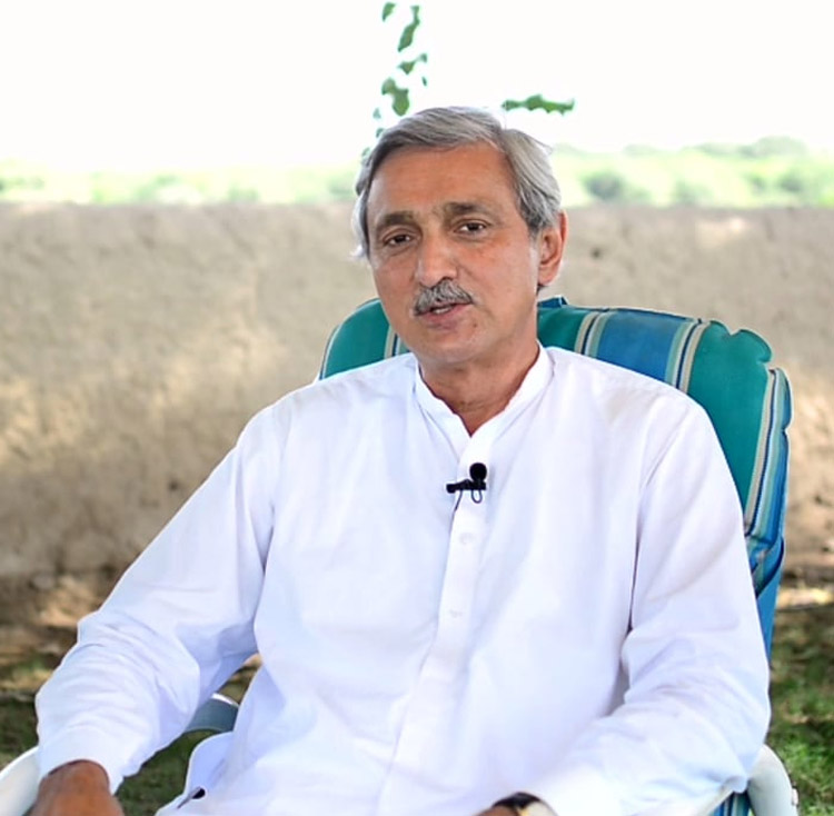 pti 039 s disqualified leader jahangir tareen faced criticism for briefing cabinet members photo file