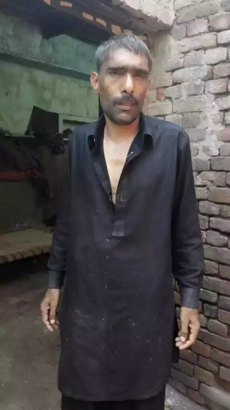 iqbal a resident of sialkot had been missing for the past two years photo express