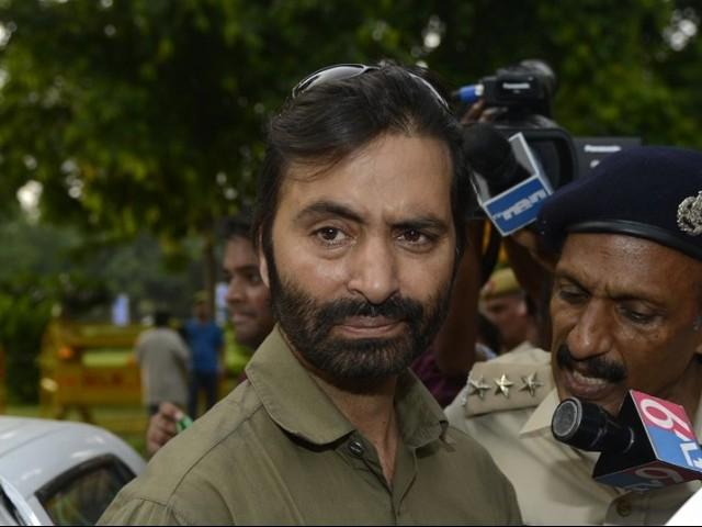 indian government imposes ban on yasin malik led jammu and kashmir liberation front photo afp file
