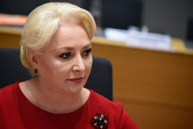 romanian prime minister viorica dancila 039 s stance would align her country with the us position under president donald trump photo afp