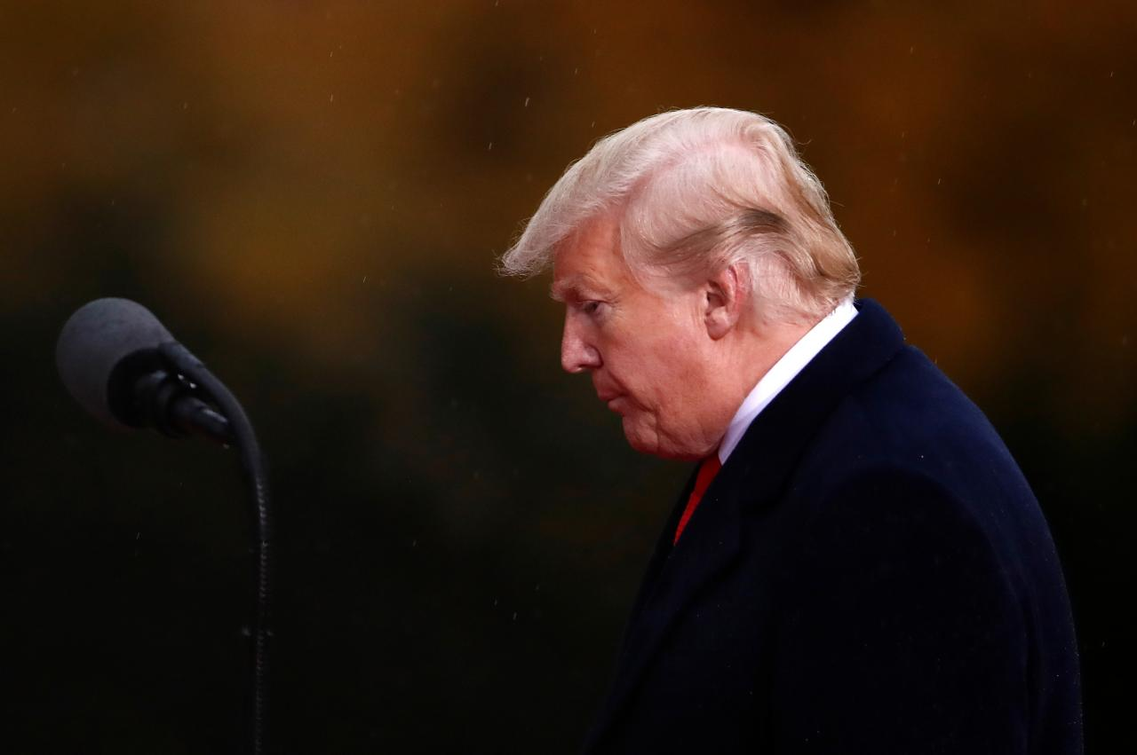 u s president donald trump   photo reuters file