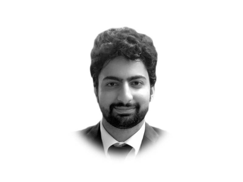 the writer is a lawyer based in lahore and also teaches at the lahore university of management sciences he holds an ll m from new york university where he was a hauser global scholar he tweets hniaziii