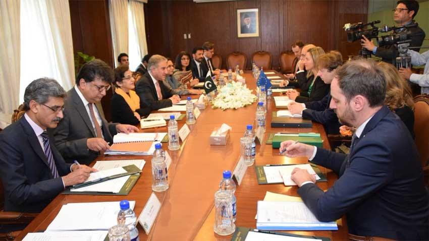 shah mehmood qureshi mogherini photo fo twitter
