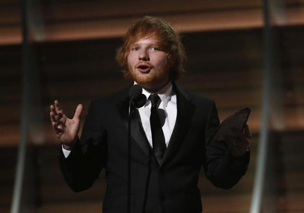 ed sheeran reveals he was trolled for having ginger hair in school
