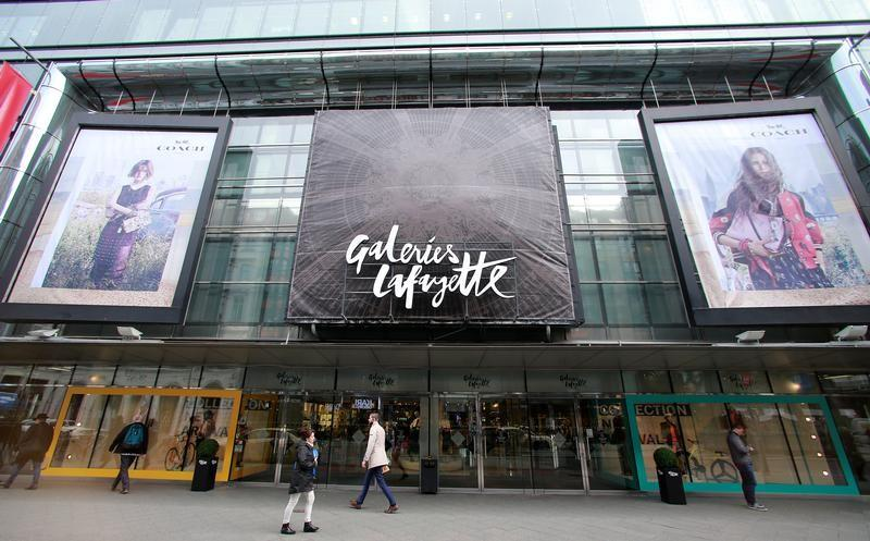 french department store chain plans to open about 10 stores photo reuters