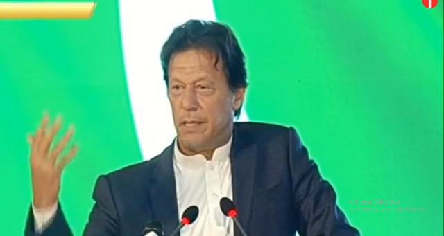 country 039 s premier was addressing a ceremony for the government 039 s poverty alleviation programme screengrab ptv