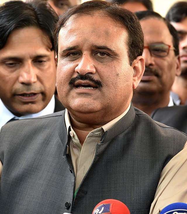 a file photo of punjab chief minister usman buzdar