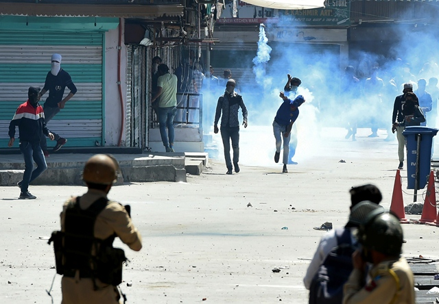 more than 200 kashmiris have been detained during overnight raids in indian occupied kashmir photo afp file