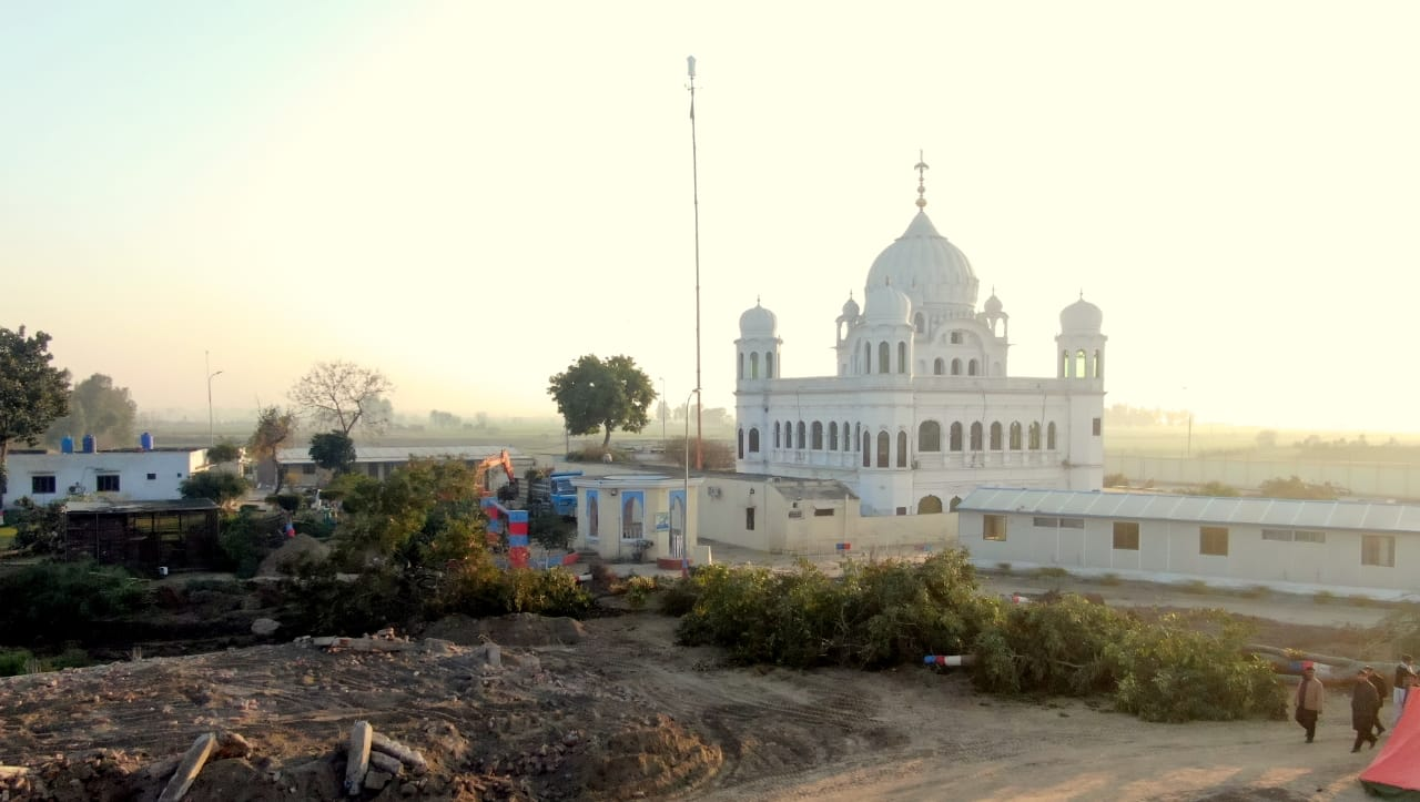 work in progress at the kartarpur corridor photo foreign office