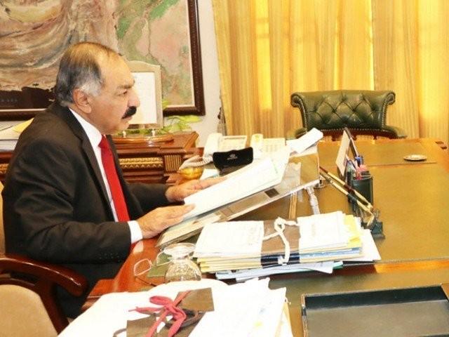 balochistan governor amanullah yasinzai photo express