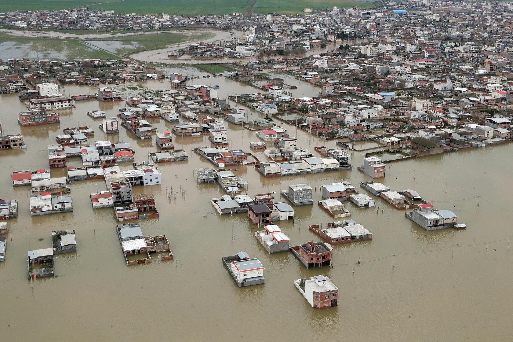 iran evacuates flood threatened villages after heavy rains kill dozens