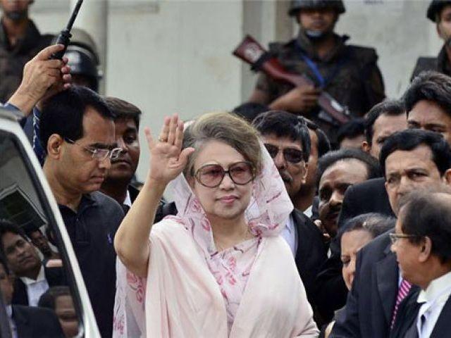 bangladesh opposition leader khaleda zia hospitalised