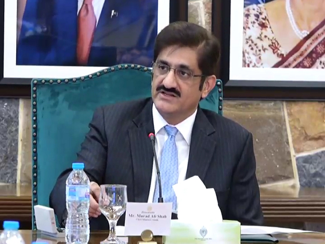 cm murad ali shah photo screengrab