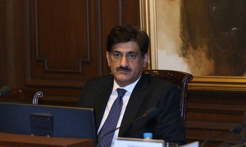 CM Murad Ali Shah. PHOTO: EXPRESS