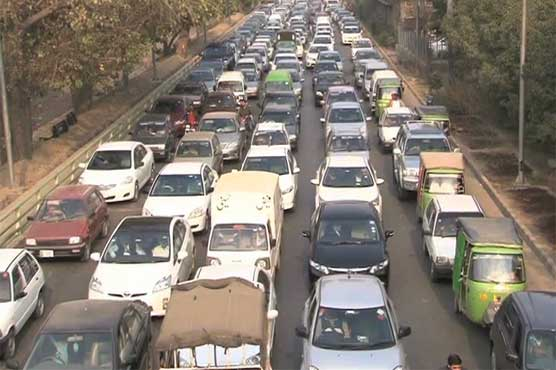various protests hamper traffic in lahore