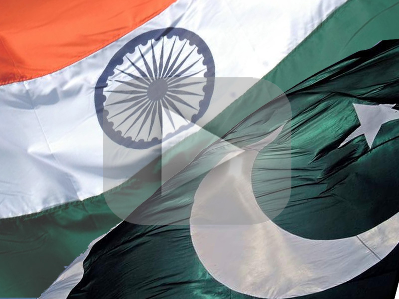 recent talks between pakistan and india show that pakistan is extending an olive branch